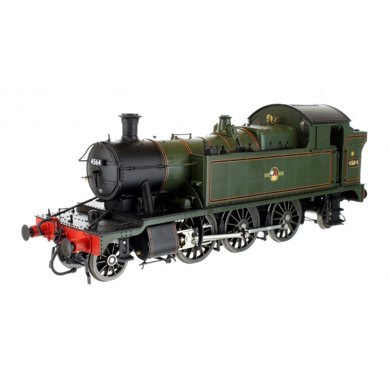 O Gauge 45XX B.R. Lined Green Late Crest...