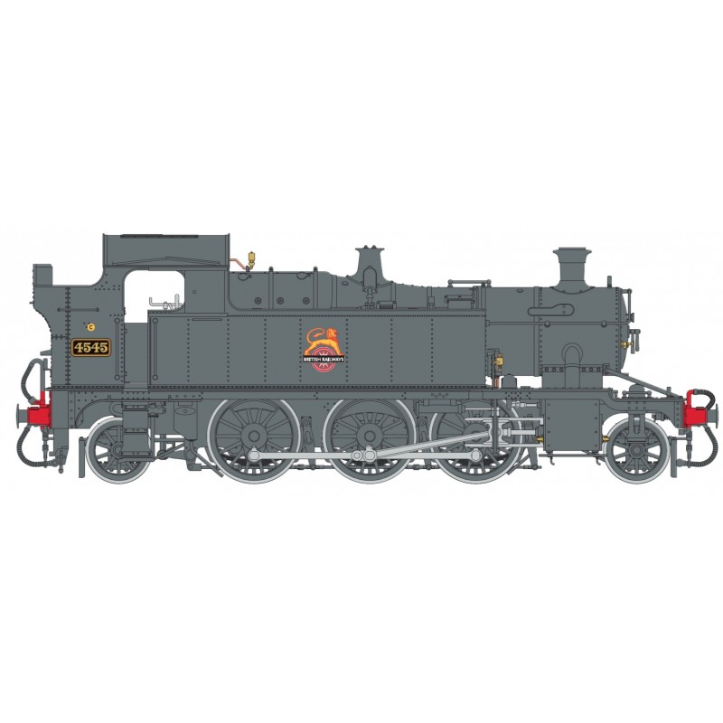 O Gauge 45XX B.R. Black Early Crest 4545