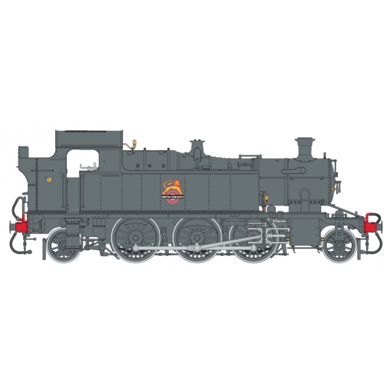 O Gauge 45XX B.R. Black Early Crest—Un...
