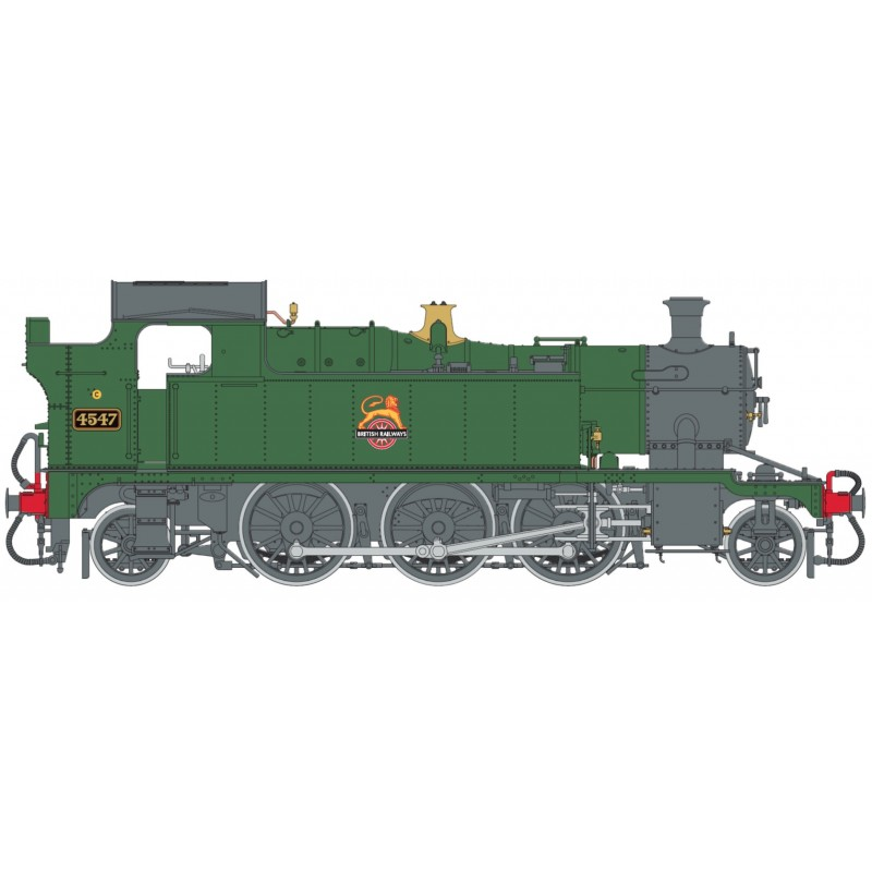 O Gauge 45XX B.R. Lined Green Early Cres...