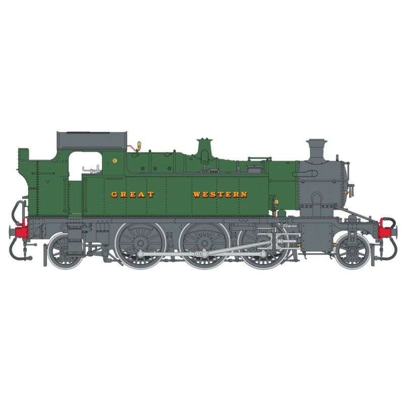 O Gauge 45XX G.W. Green lettered GREAT W...