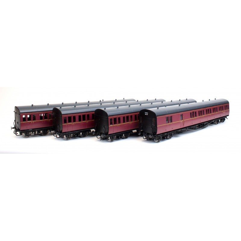 Suburban B 4 Coach Set BR London #34 Lin...