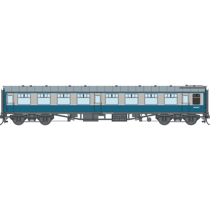 O Gauge BR Blue SK M25362 DCC Fitted
