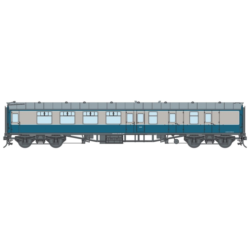 O Gauge BR Blue SO (Unnumbered)