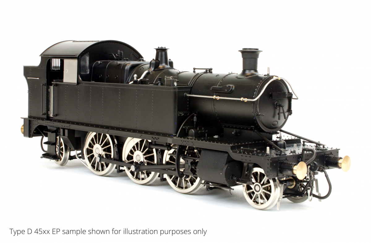 O Gauge 45XX B.R. Black BRITISH RAILWAYS 4571 DCC Sound Fitted