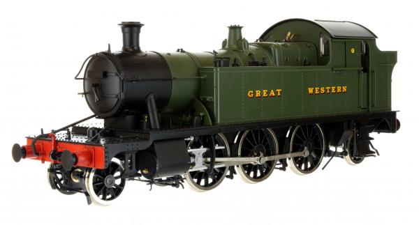 O Gauge 45XX 4555 G.W. Green lettered GREAT WESTERN DCC Sound Fitted