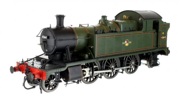 O Gauge 45XX B.R. Lined Green Late Crest 4546 DCC Sound Fitted