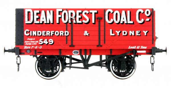 LHT-F-071-003 7 plank Dean Forrest Coal Co. 549