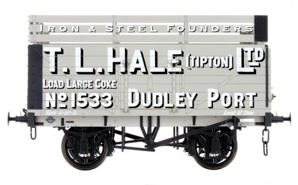 LHT-F-073-001 7 Plank T L Hale Ltd 1533 (Three Coke Rails)